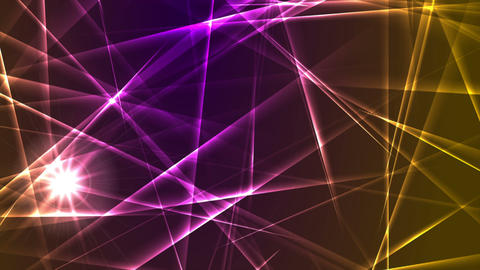 Colorful glowing laser beams lines motion design Animation