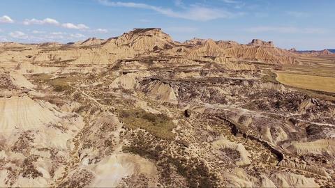 Rocky desert landscape aerial. Video of rocky desert landscape aerial Live Action