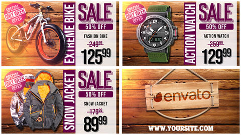 Extreme SALE Promo After Effects Template