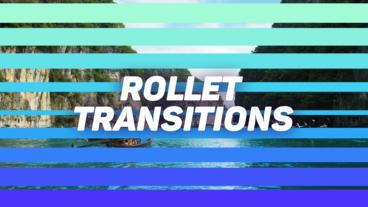 Rollet Transitions モーショングラフィックステンプレート