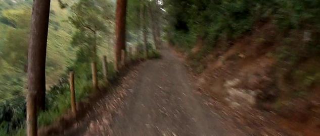Andean rural road Footage