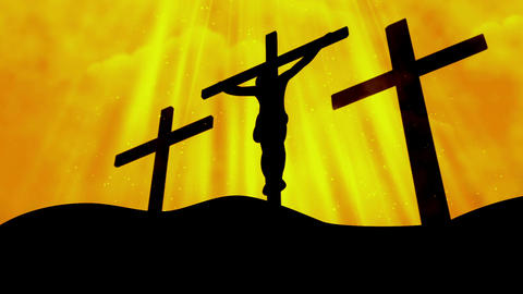 Worship Cross 11 Loopable Background Animation