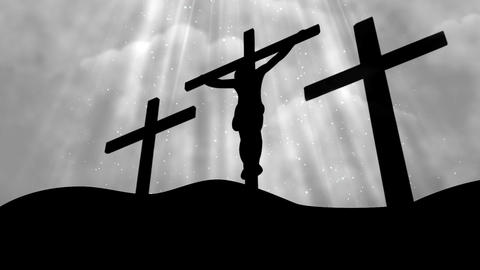 Worship Cross 14 Loopable Background Animation