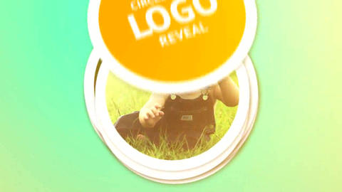 Circle Image Logo Reveal After Effects Template