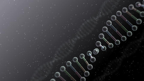 DNA Strand Genome image 4 B2f 4k Animation