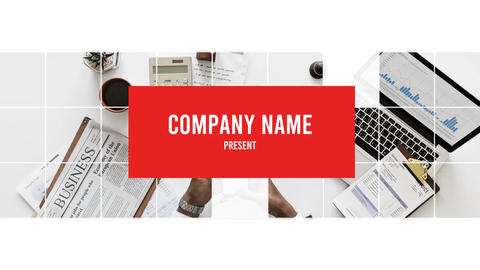 Corporate Smooth Opener Logo After Effects Template