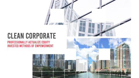 Corporate Smooth Opener After Effects Template