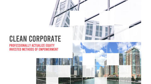 Smooth Corporate Opener After Effects Template