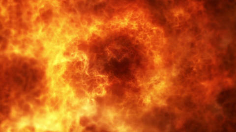 Wall of Fire Loop Motion Graphic Background Animation