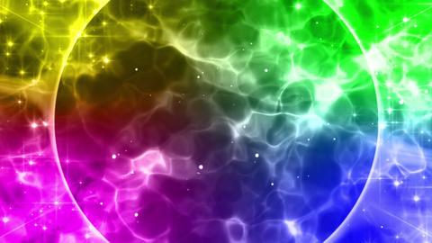 Flare burst rainbow animation Animation
