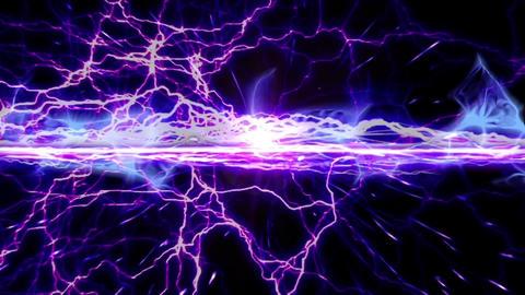 Lightning effect spark animation Animation