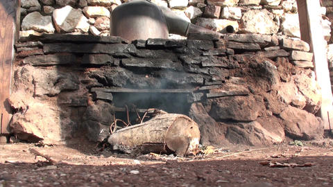 Traditional Stone Oven Footage