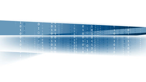 Binary system code tech video animation Animation