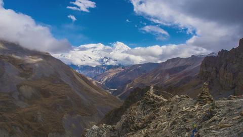 Annapurna Mountains View Footage