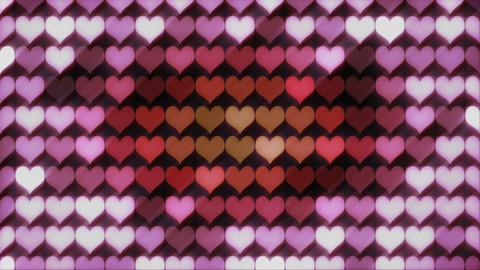 Hearts backgroud Animation