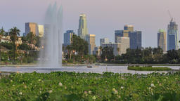 Los Angeles by the lake Footage