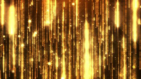 Cinematic Particles rain Animation