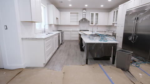 Home Improvement Kitchen Remodel view installed in a new kitchen Footage