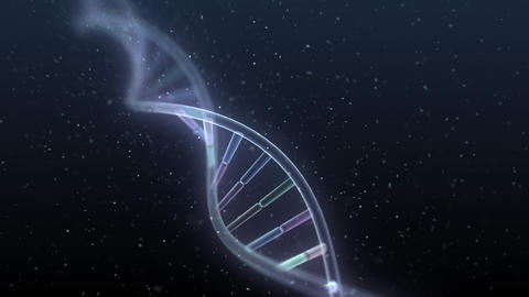 DNA Strand Genome image 5 A4a 4k Animation