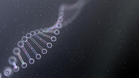 DNA Strand Genome image 5 B4c 4k Animation