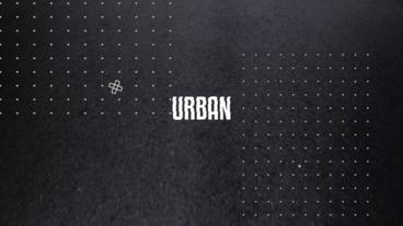 Urban Glitch Opener Apple Motion Template