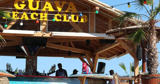 Beach Club In Sunny Beach Live Action