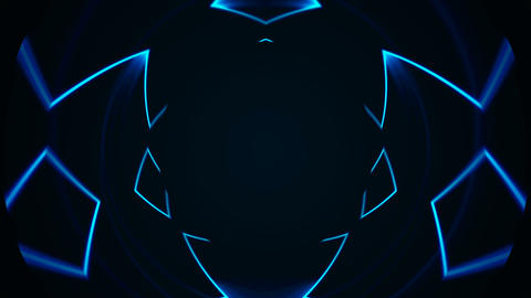 Abstract VJ Lines background Animation