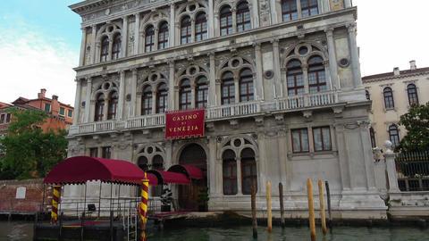 Famous Casino di Venezia in Venice at Grand Canal - Casino Venice Footage