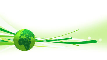 Earth globe popup animation with some stripes or particles for news intro After Effectsテンプレート