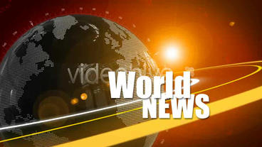 World News ID opener After Effects Template