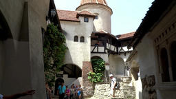 Draculas Castle Transylvania, Romania Footage