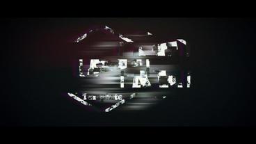 Glitch_logo_animation After Effectsテンプレート