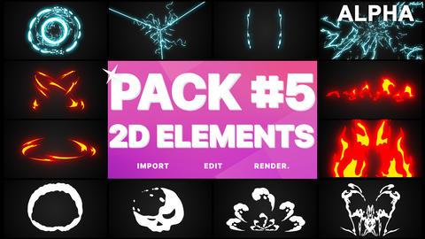 Elements Pack 05 Premiere Pro Template