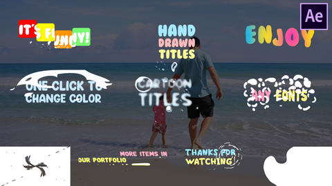 Fun Titles After Effects Template