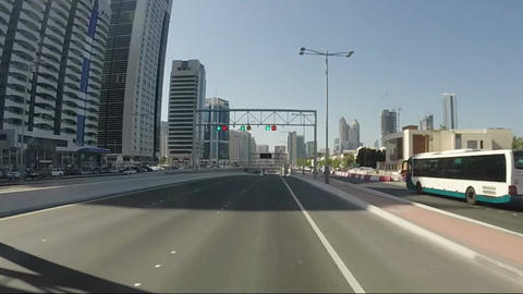 Abu Dhabi City - capital and second most populous city in United Arab Emirates,  Footage