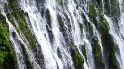 Waterfall on the rocks Stock Video Footage