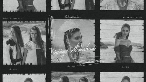 Laizy - Vintage Slideshow Premiere Proテンプレート