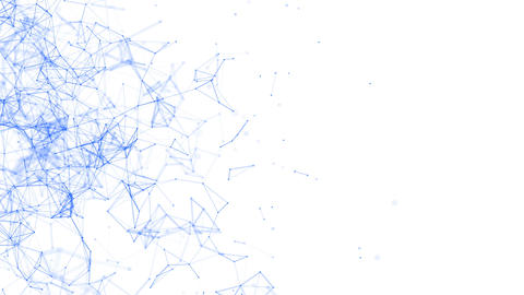 Cloud network abstract background animation Animation