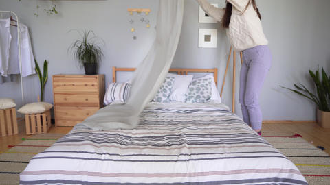 Create comfort in an elegant casual style. Scandinavian interior concept ビデオ