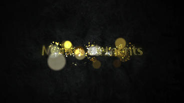 Shiny-metal-logo After Effectsテンプレート