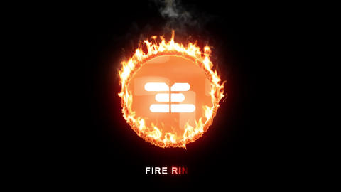 Fire Ring After Effects Template