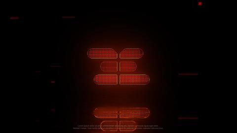 Neon Glitch Logo Premiere Pro Template