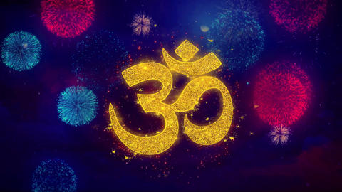 Hinduism, meditation, om, yoga hindu symbol, indian religion Icon Symbol on Live Action