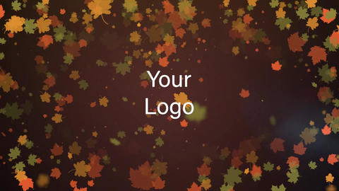 Autumn Logo Reveal Premiere Pro Template