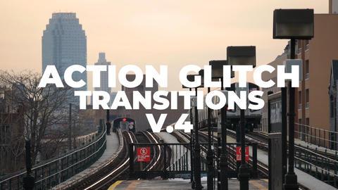 Action Glitch Transitions V 4 Premiere Proテンプレート