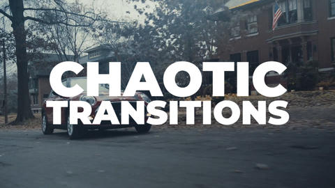 Chaotic Transitions Premiere Pro Template