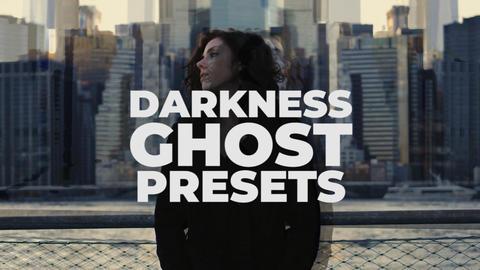 Darkness Ghost Presets Premiere Proテンプレート