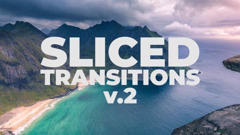 Sliced Transitions V 2 Premiere Pro Template
