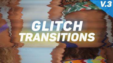 Glitch Transitions Presets V.3 Premiere Pro Effect Preset