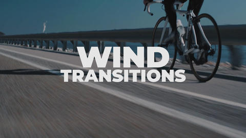 Wind Transitions Plantillas de Premiere Pro